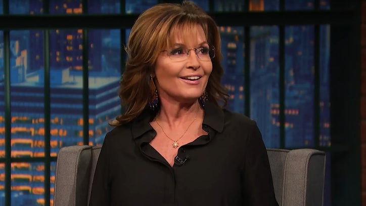 Sarah Palin Talks Donald Trump's Success, Louis C.K. Apology on 'Late Night'
