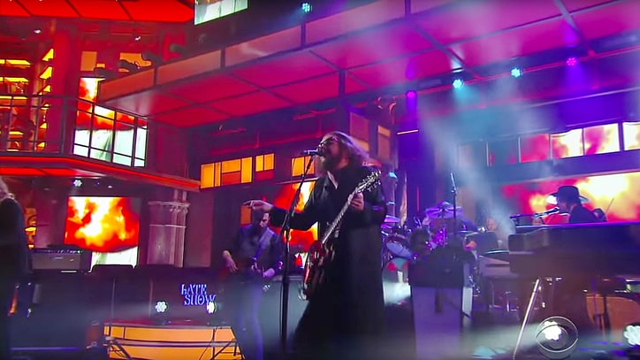 Watch My Morning Jacket Bring Thunderous 'Tropics' to 'Colbert'