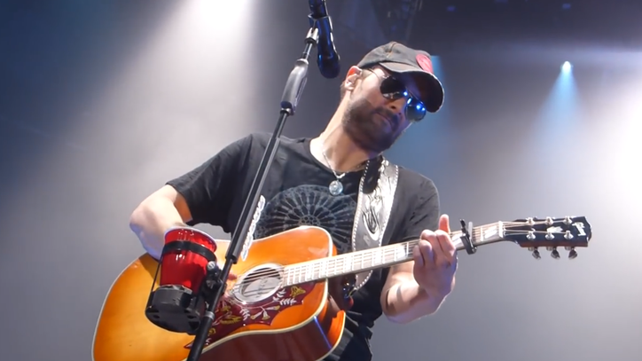 Flashback: Watch Eric Church Cover the Band's 'Ophelia'