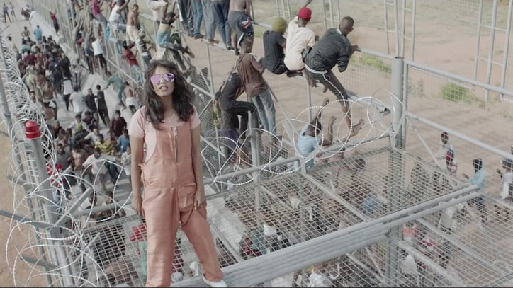 M.I.A. Examines Refugees' Strife in Politically Charged 'Borders' Video