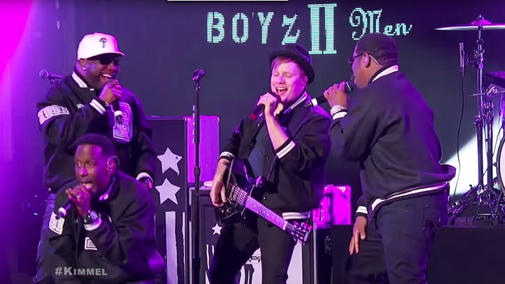 Fall Out Boy, Boyz II Men Tear Through 'Motownphilly' on 'Kimmel'