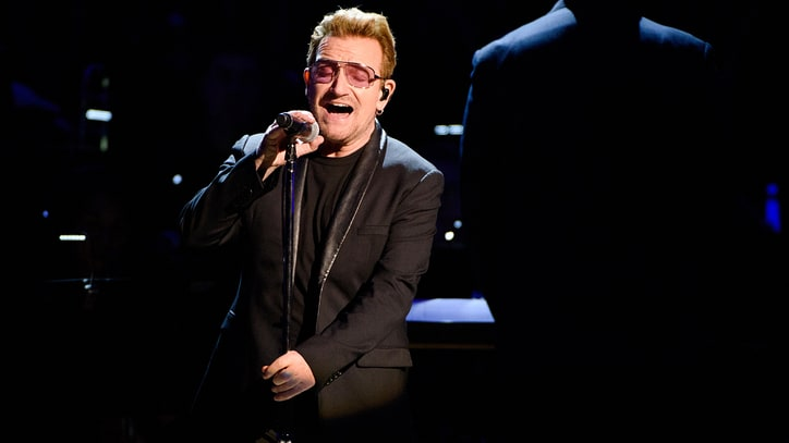 Bono Sings With Miley Cyrus at Stirring World AIDS Day Show
