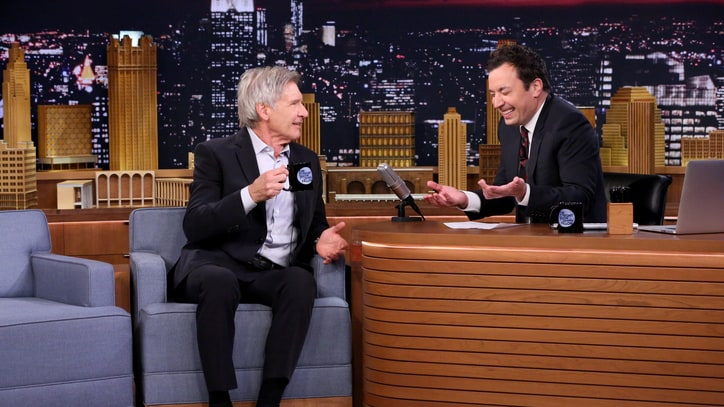 Watch Harrison Ford Recreate 'Star Wars' Injury With Han Solo Doll