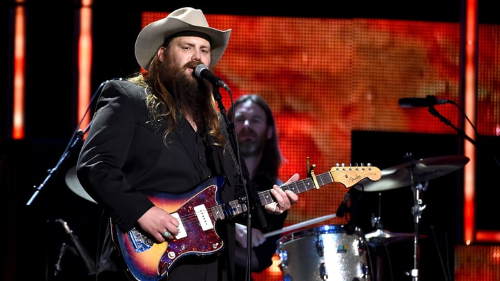 See Chris Stapleton's Growling 'Nobody to Blame' at CMT 'Artists' Gala