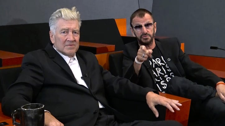 See Ringo Starr, David Lynch Discuss Beatle's Career, Meditation