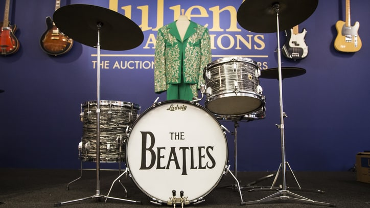 Colts Owner: Why I Paid $2.2 Million for Ringo Starr's Drum Kit