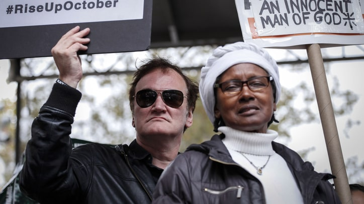 Quentin Tarantino on Police Boycotts: 'I'm Not Worried'