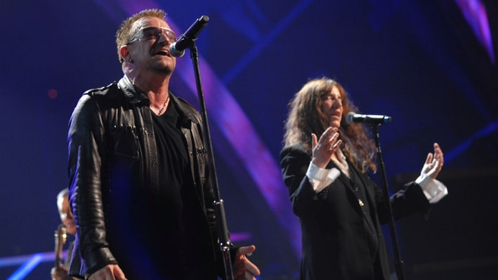 Watch U2 Perform 'People Have the Power' in Paris With Patti Smith