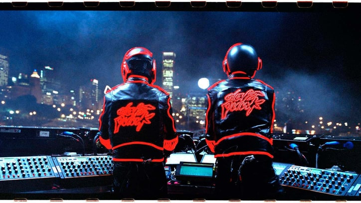 Daft Punk Rolling Stone