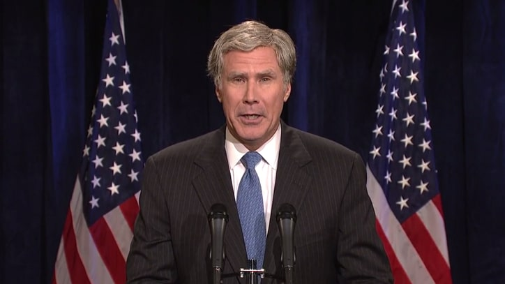 Watch Will Ferrell's George W. Bush Roast GOP Candidates on 'SNL'