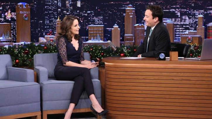 Tina Fey, Fallon Exchange 'First Impressions' of Morgan Freeman, Elmo