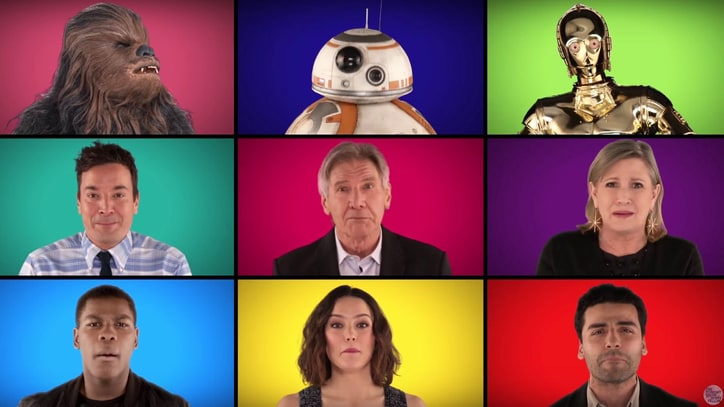 'Force Awakens' Cast, Roots Sing 'Star Wars' Medley A Cappella