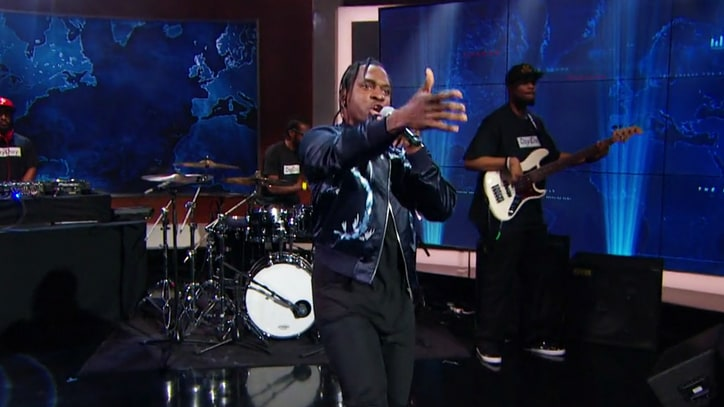 Watch Pusha T Debut Dark 'Sunshine' on 'Daily Show'