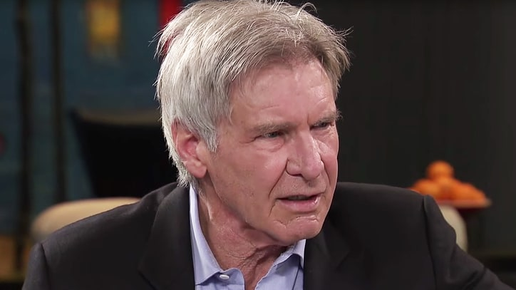 Watch Stephen Colbert Annoy Harrison Ford With Awful Han Solo Audition
