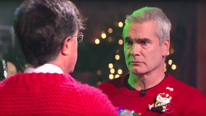 See Henry Rollins, Stephen Colbert Growl 'Carol of the Bells'
