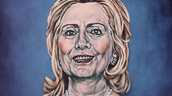 See Sarah Sole's Fascinating, Surreal Hillary Clinton Portraits