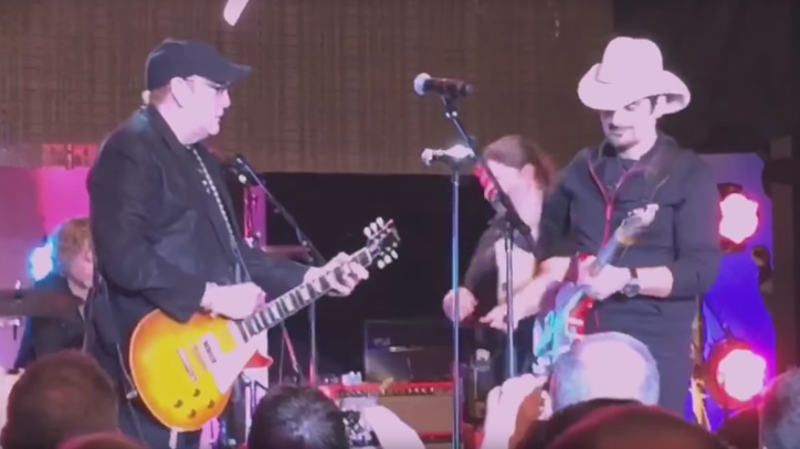 Flashback: See Brad Paisley's Wild Jam With Cheap Trick
