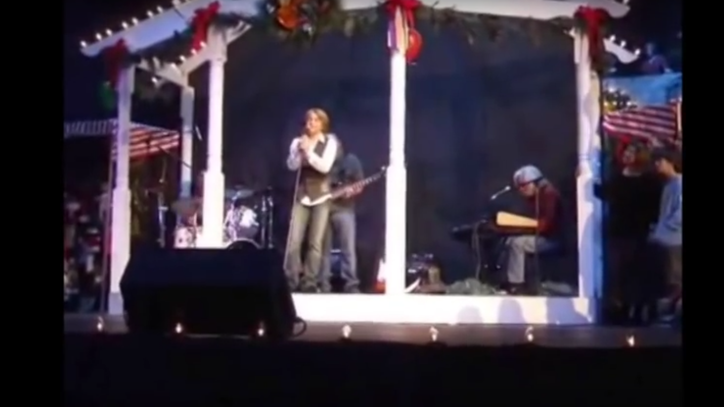 Flashback: See a Young Hunter Hayes Perform 'More Than a Child'