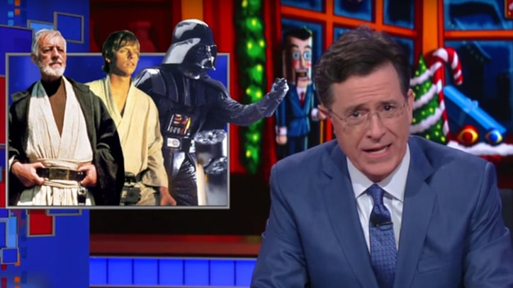 See Stephen Colbert Summarize 'Star Wars' for China