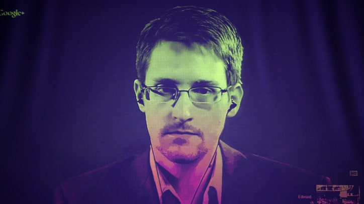 Edward Snowden: Clinton's Call for a 'Manhattan-Like Project' Is Terrifying