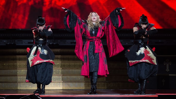 Watch Madonna Sing 'Holiday' Without Power at Glasgow Concert
