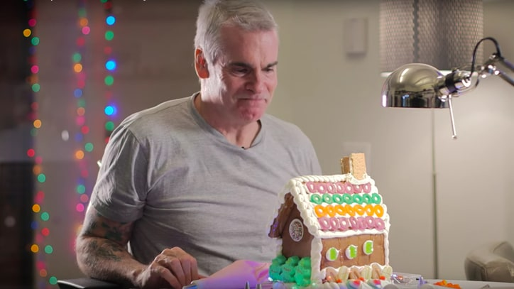 Watch Henry Rollins Make a Gingerbread House