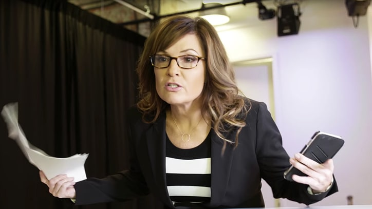 Watch Sarah Palin Spoof Tina Fey in '31 Rock' Sketch