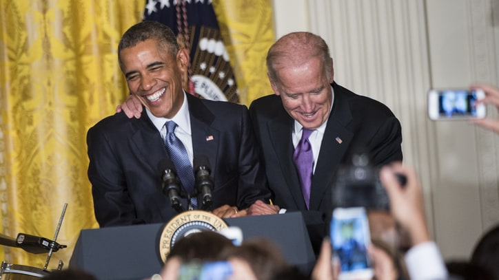 Obamas, Bidens Unveil Personal Holiday Playlists