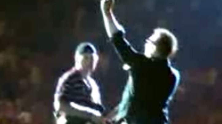 U2 Brings Blind Fan Onstage To Perform 'All I Want Is You'
