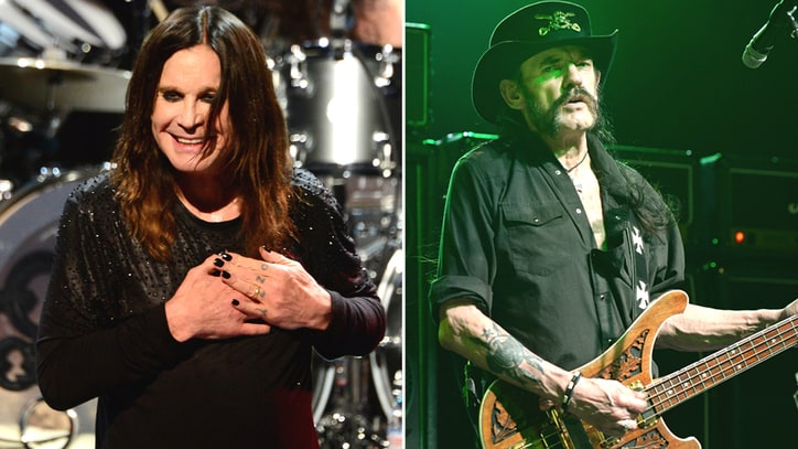 Ozzy Osbourne Remembers Lemmy: 'He Was My Hero'