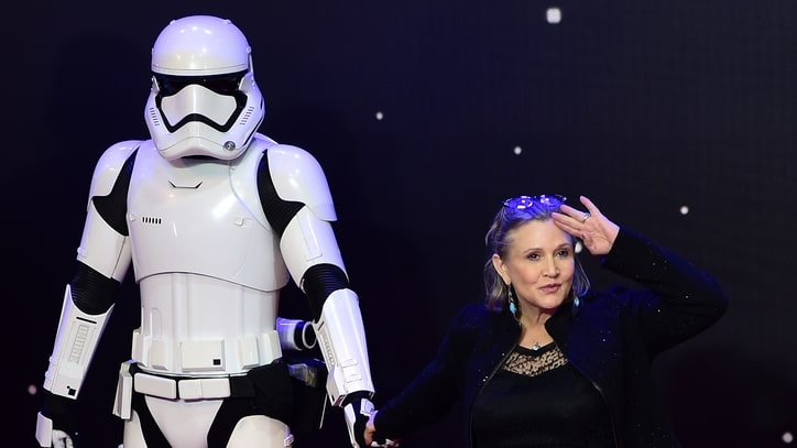 Carrie Fisher Annihilates 'Star Wars' Body Shamers
