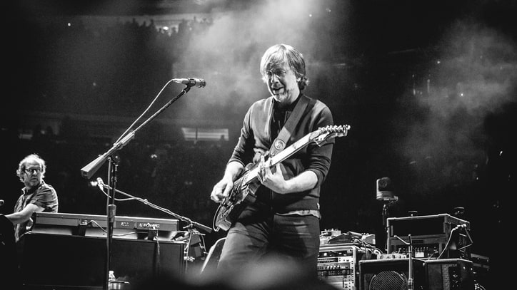 Phish Pull Disappearing Act at Jam-Heavy NYC New Year's Show