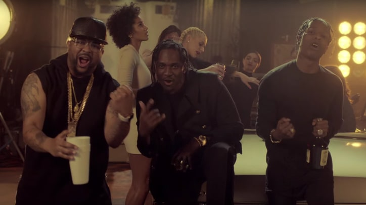 Watch Pusha T, A$AP Rocky, The-Dream Toast 'M.P.A.' in New Video