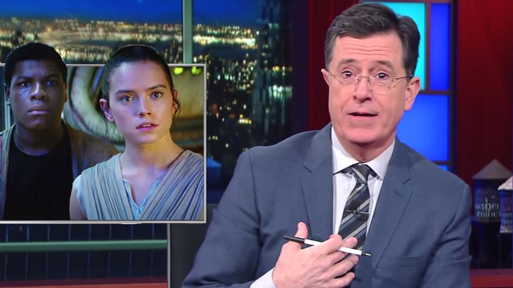 Stephen Colbert Examines Vatican's Harsh 'The Force Awakens' Review