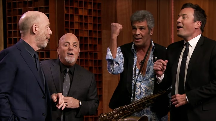 Watch Billy Joel, Fallon Sing Doo-Wop on 'The Longest Time'