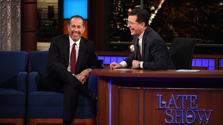 Jerry Seinfeld Tackles Buffets in Hilarious 'Late Show' Stand-Up