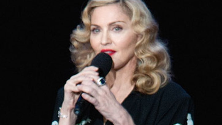 Madonna Recording New Album