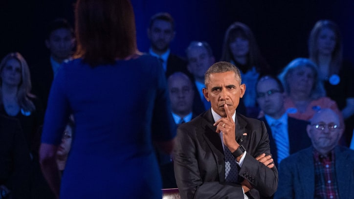 5 Tough Gun Questions Obama Tackled at Thursday's Town Hall