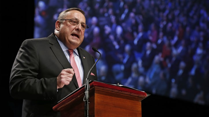 Maine Governor's Racist Rant: Drug Traffickers Impregnating 'Young, White' Girls