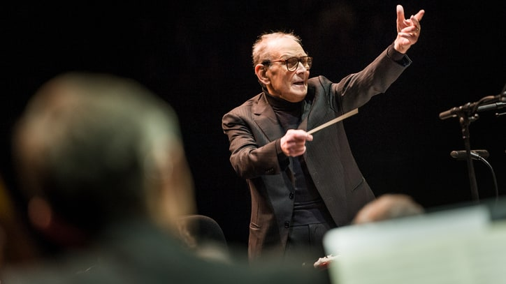 Ennio Morricone Goes Inside 'Hateful Eight' Soundtrack