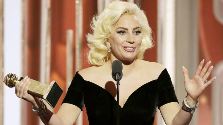 Watch Lady Gaga's Emotional Speech at 2016 Golden Globes
