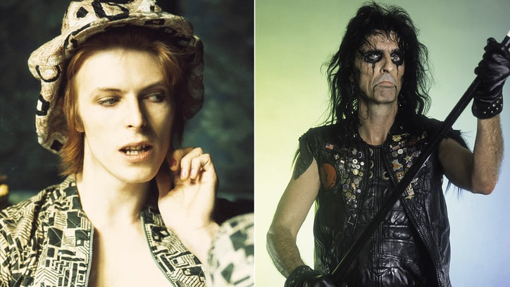 Alice Cooper: 'Loss of David Bowie Will Be Hard to Swallow'