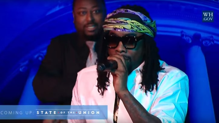 Watch Wale Open for Obama's Final State of the Union Address