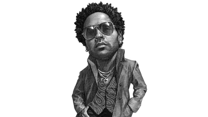Lenny Kravitz on Idolizing the Stones, Owning Bob Dylan's Harmonica