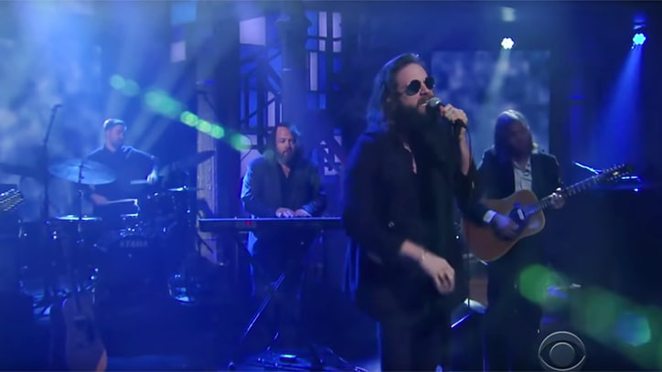 Watch Father John Misty's Passionate 'Holy S--t' Performance on 'Colbert'