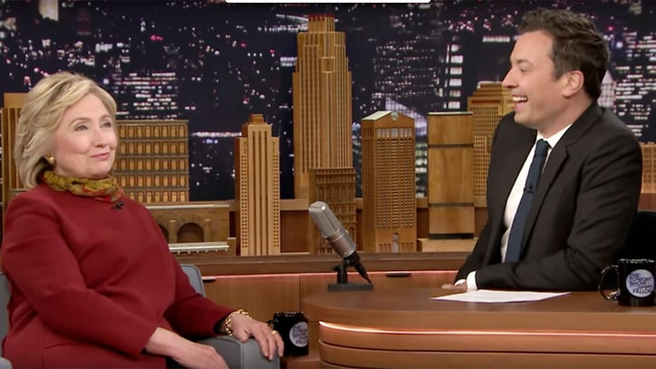 Hillary on 'Tonight Show': Trump Battle Would Be 'Quite the Showdown'