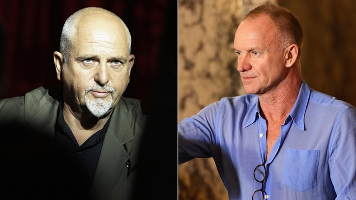 Sting, Peter Gabriel Announce Joint Rock Paper Scissors Tour