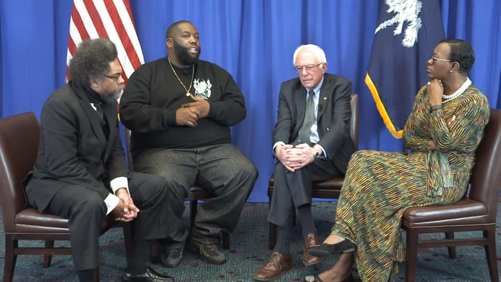 Watch Killer Mike, Cornel West Chat With Bernie Sanders About MLK's Legacy