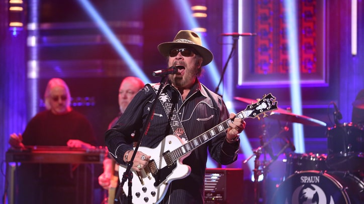 See Hank Williams Jr.'s Swaggering 'Fallon' Performance
