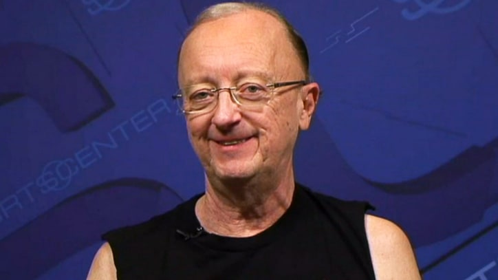 Watch John Clayton Rock a Slayer T-Shirt on ESPN